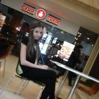в кафе :: Екатерина меркушева
