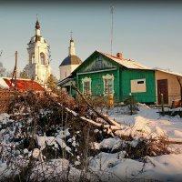 Усадьба Авдотьино-Тихвинское (Ступинский район) :: Евгений Жиляев
