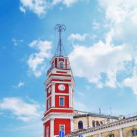 Часы на башне. :: Сергей Исаенко