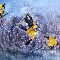 Горные лыжники, Валерий. :: Анастасия Воскресенская