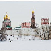 Всё смешалось с белым снегом. :: Яков Реймер