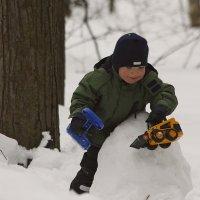 Зима в детстве :: Pavel Stolyar