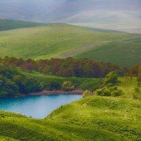 Горное озеро. :: Эдуард Сычев