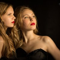 Алина и Валерия :: Полина Крывулько