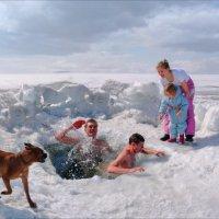Bathing Naturists (Купающиеся Натуристы) :: Андрей Пашис