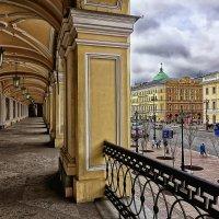 Вид на Невский с Гостиного двора :: mila