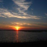 Закат в степях Калмыкии :: Владимир Насыпаный