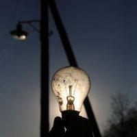 Солнечный свет через лампу :: Лиза Исюк