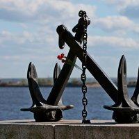 Якоря на Зимней пристани в Кронштадте :: Светлана Безрукова