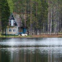 домик у озера :: Аркадий Соловьев