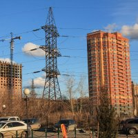 Новосибирск строится :: Олег Афанасьевич Сергеев