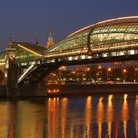 Киевский пешеходный мост :: Alex