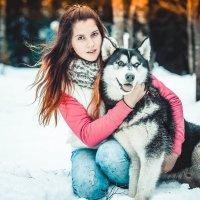 Девочка с Хаски :: Виктор Седов