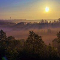 Восход, весной :: Юрий Стародубцев