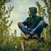 в лесу :: Артемий Кошелев