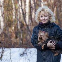 Дама с собачкой :: Oleg Akulinushkin