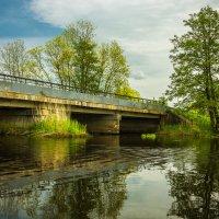 Мост на Ржевке :: Игорь Вишняков