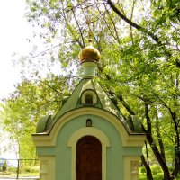 Часовня Владимирской иконы Божией Матери на бывш. Лазаревском кладбище :: Александр Качалин