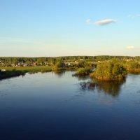Большая вода на Ине :: Татьяна Лютаева