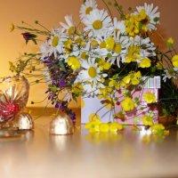 Ты не рви мне цветы полевые... :: Galina Dzubina