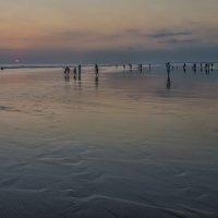 закат с красным солнышком :: Александр