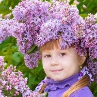 Сиреневая девочка!!!! :: Леонид Мишанин