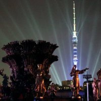 световые эффекты-новые реальности праздника :: Олег Лукьянов