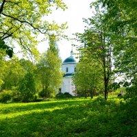 Деревенский храм в д. Рай :: Милешкин Владимир Алексеевич