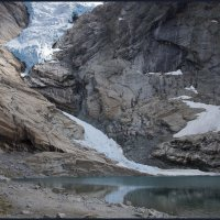 поход к тающим льдам :: liudmila drake