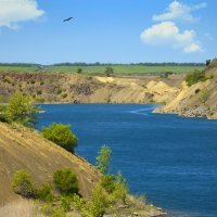 Голубое озеро :: Константин Снежин
