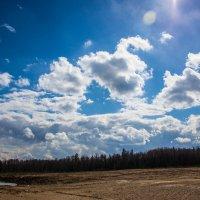 Небо над Лопатинским рудником :: Артём Тараненко