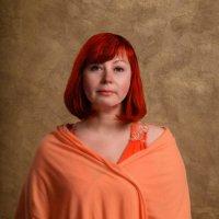 В оранжевом цвете :: анна Стогова