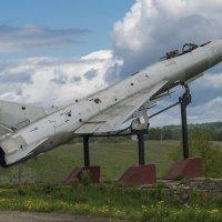 МИГ-21 ( пямятник  рядом с  Братской могилы в Карманово , Смоленкая область ) :: Svetlana AS