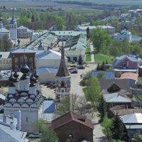 центр Суздаля с колокольни :: Сергей Цветков