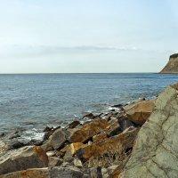 Слоистые скалы, дикие берега :: Константин Николаенко