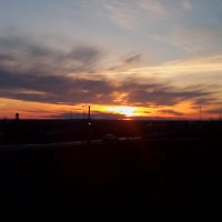 солнышко всем пожелало спокойной ночи :: Светлана Солдатченкова