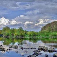 река.камни.облака :: юрий иванов