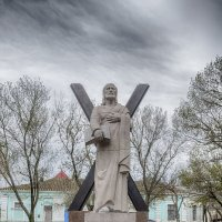 Памятник Святому Апостолу Андрею Первозванному. Феодосия :: Алексадр Мякшин