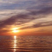 Закат на море :: Nyusha