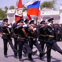 Ритуал вручения Боевого Знамени. Евпатория :: Андрей Козлов