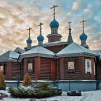 Храм Богоявления Господня в Бородине :: Денис Масленников