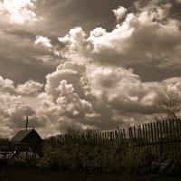 Гонит ветер облака... :: Евгений Юрков