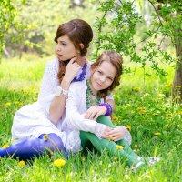 Сестренки :: Таня Андрюшина