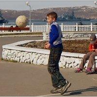 Футбол с кораблями... :: Кай-8 (Ярослав) Забелин
