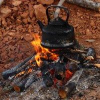 """""""Чай с дымком- горячий, горький у костра в ночной тиши..."""" :: Galina S*"""