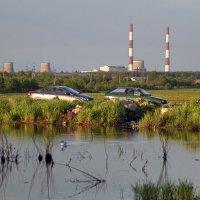 Индустриальный пейзаж :: Тата Казакова