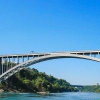 Радужный мост через Ниагару. :: Яна