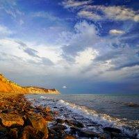 Закат в Анапе на Высоком берегу :: Allex Anapa