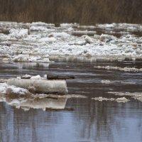 Ледоход на реке Пызеп :: Владимир Максимов