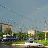 Радуга в городе :: Елена Федотова